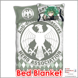 New Tornado of Terror Tatsumaki - One Punch Man Japanese Anime Bed Blanket or Duvet Cover with Pillow Covers ADP-CP151234 - Anime Dakimakura Pillow Shop | Fast, Free Shipping, Dakimakura Pillow & Cover shop, pillow For sale, Dakimakura Japan Store, Buy Custom Hugging Pillow Cover - 2