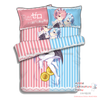 New Rem and Ram - Re Zero Japanese Anime Bed Blanket or Duvet Cover with Pillow Covers ADP-CP160407 - Anime Dakimakura Pillow Shop | Fast, Free Shipping, Dakimakura Pillow & Cover shop, pillow For sale, Dakimakura Japan Store, Buy Custom Hugging Pillow Cover - 4
