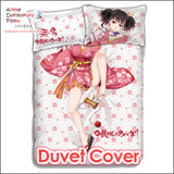 New Mumei - Kabaneri of the Iron Fortress Japanese Anime Bed Blanket or Duvet Cover with Pillow Covers ADP-CP160409 - Anime Dakimakura Pillow Shop | Fast, Free Shipping, Dakimakura Pillow & Cover shop, pillow For sale, Dakimakura Japan Store, Buy Custom Hugging Pillow Cover - 3
