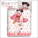 New Mumei - Kabaneri of the Iron Fortress Japanese Anime Bed Blanket or Duvet Cover with Pillow Covers ADP-CP160409 - Anime Dakimakura Pillow Shop | Fast, Free Shipping, Dakimakura Pillow & Cover shop, pillow For sale, Dakimakura Japan Store, Buy Custom Hugging Pillow Cover - 2