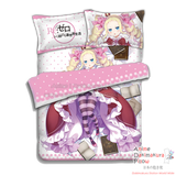 New Beatrice - Re Zero Japanese Anime Bed Blanket or Duvet Cover with Pillow Covers ADP-CP160411 - Anime Dakimakura Pillow Shop | Fast, Free Shipping, Dakimakura Pillow & Cover shop, pillow For sale, Dakimakura Japan Store, Buy Custom Hugging Pillow Cover - 4