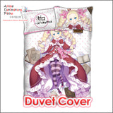 New Beatrice - Re Zero Japanese Anime Bed Blanket or Duvet Cover with Pillow Covers ADP-CP160411 - Anime Dakimakura Pillow Shop | Fast, Free Shipping, Dakimakura Pillow & Cover shop, pillow For sale, Dakimakura Japan Store, Buy Custom Hugging Pillow Cover - 3