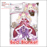 New Beatrice - Re Zero Japanese Anime Bed Blanket or Duvet Cover with Pillow Covers ADP-CP160411 - Anime Dakimakura Pillow Shop | Fast, Free Shipping, Dakimakura Pillow & Cover shop, pillow For sale, Dakimakura Japan Store, Buy Custom Hugging Pillow Cover - 2