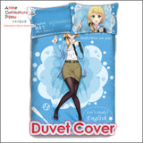 New Ellen Baker Japanese Anime Bed Blanket or Duvet Cover with Pillow Covers ADP-CP160412 - Anime Dakimakura Pillow Shop | Fast, Free Shipping, Dakimakura Pillow & Cover shop, pillow For sale, Dakimakura Japan Store, Buy Custom Hugging Pillow Cover - 3