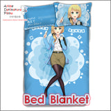 New Ellen Baker Japanese Anime Bed Blanket or Duvet Cover with Pillow Covers ADP-CP160412 - Anime Dakimakura Pillow Shop | Fast, Free Shipping, Dakimakura Pillow & Cover shop, pillow For sale, Dakimakura Japan Store, Buy Custom Hugging Pillow Cover - 2