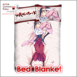 New Ayame Yomogawa - Kabaneri  the Iron Fortress Japanese Anime Bed Blanket or Duvet Cover with Pillow Covers ADP-CP160417 - Anime Dakimakura Pillow Shop | Fast, Free Shipping, Dakimakura Pillow & Cover shop, pillow For sale, Dakimakura Japan Store, Buy Custom Hugging Pillow Cover - 2
