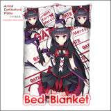 New Rory Mercury - Gate Japanese Anime Bed Blanket or Duvet Cover with Pillow Covers ADP-CP160418 - Anime Dakimakura Pillow Shop | Fast, Free Shipping, Dakimakura Pillow & Cover shop, pillow For sale, Dakimakura Japan Store, Buy Custom Hugging Pillow Cover - 2