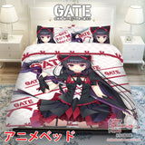 New Rory Mercury - Gate Japanese Anime Bed Blanket or Duvet Cover with Pillow Covers ADP-CP160418 - Anime Dakimakura Pillow Shop | Fast, Free Shipping, Dakimakura Pillow & Cover shop, pillow For sale, Dakimakura Japan Store, Buy Custom Hugging Pillow Cover - 1