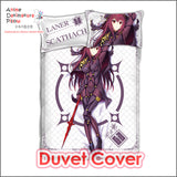 New Lancer Scathach - Fate Grand Order Japanese Anime Bed Blanket or Duvet Cover with Pillow Covers ADP-CP160501 - Anime Dakimakura Pillow Shop | Fast, Free Shipping, Dakimakura Pillow & Cover shop, pillow For sale, Dakimakura Japan Store, Buy Custom Hugging Pillow Cover - 3