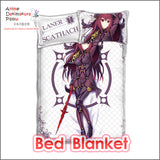 New Lancer Scathach - Fate Grand Order Japanese Anime Bed Blanket or Duvet Cover with Pillow Covers ADP-CP160501 - Anime Dakimakura Pillow Shop | Fast, Free Shipping, Dakimakura Pillow & Cover shop, pillow For sale, Dakimakura Japan Store, Buy Custom Hugging Pillow Cover - 2