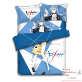 New Noriko Sonozaki - Kiznaiver Japanese Anime Bed Blanket or Duvet Cover with Pillow Covers ADP-CP160502 - Anime Dakimakura Pillow Shop | Fast, Free Shipping, Dakimakura Pillow & Cover shop, pillow For sale, Dakimakura Japan Store, Buy Custom Hugging Pillow Cover - 3