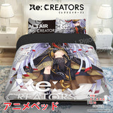 New Altair - Re Creators Japanese Anime Bed Blanket or Duvet Cover with Pillow Covers ADP-CP170002