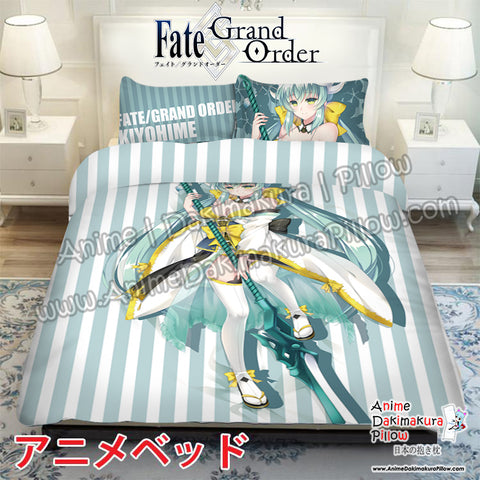 New Kiyohime - Fate Grand Order Japanese Anime Bed Blanket or Duvet Cover with Pillow Covers ADP-CP170008