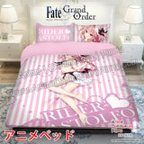 New Astolfo - Fate Japanese Anime Bed Blanket or Duvet Cover with Pillow Covers ADP-CP170016-A