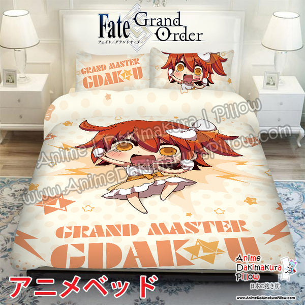 New Gudako - Fate Japanese Anime Bed Blanket or Duvet Cover with Pillow Covers ADP-CP170021