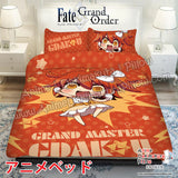 New Gudako - Fate Japanese Anime Bed Blanket or Duvet Cover with Pillow Covers ADP-CP170022