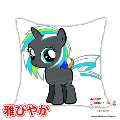 New Filly Stella Starlight Anime Dakimakura Square Pillow Cover Custom Designer CaptRicoSakara ADC248 - Anime Dakimakura Pillow Shop | Fast, Free Shipping, Dakimakura Pillow & Cover shop, pillow For sale, Dakimakura Japan Store, Buy Custom Hugging Pillow Cover - 1