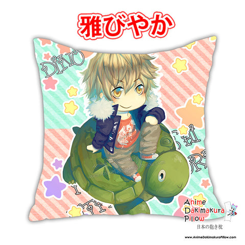 New Katekyo Hitman Reborn Anime Dakimakura Square Pillow Cover Custom Designer Celsa ADC235 - Anime Dakimakura Pillow Shop | Fast, Free Shipping, Dakimakura Pillow & Cover shop, pillow For sale, Dakimakura Japan Store, Buy Custom Hugging Pillow Cover - 1