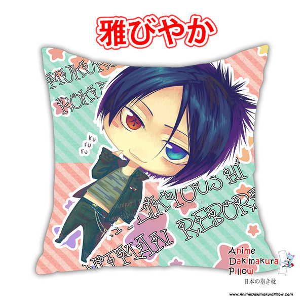 New Katekyo Hitman Reborn Anime Dakimakura Square Pillow Cover Custom Designer Celsa ADC237