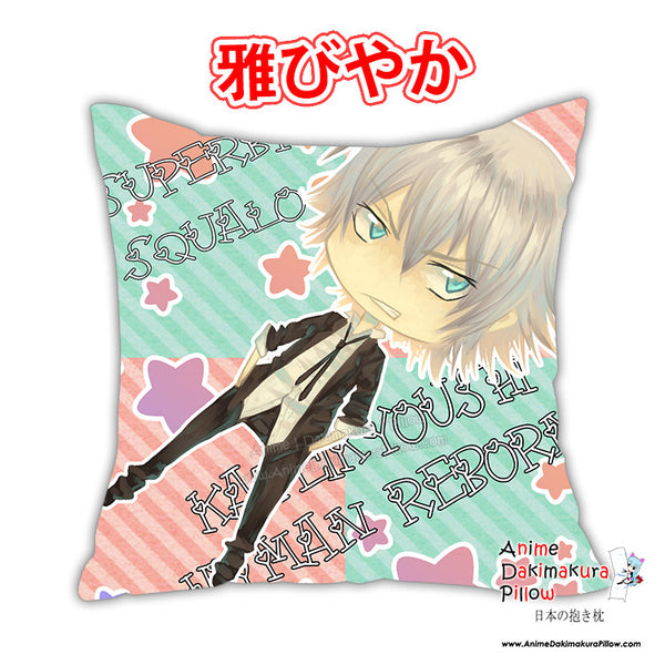 New Katekyo Hitman Reborn Anime Dakimakura Square Pillow Cover Custom Designer Celsa ADC238