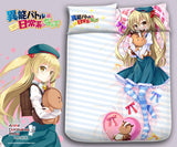 New Chifuyu - Inou Battle wa Nichijou Japanese Anime Bed Blanket or Duvet Cover with Pillow Covers Blanket 1 - Anime Dakimakura Pillow Shop | Fast, Free Shipping, Dakimakura Pillow & Cover shop, pillow For sale, Dakimakura Japan Store, Buy Custom Hugging Pillow Cover - 1