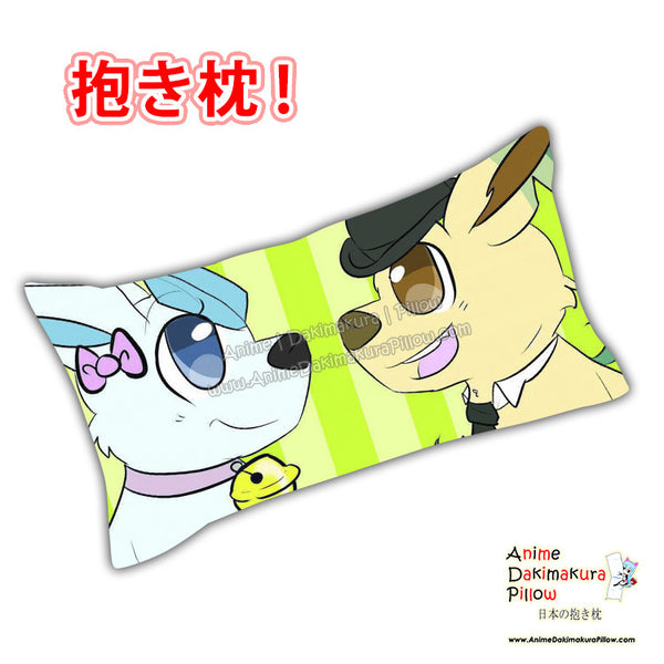 New Cutie Eony Anime Dakimakura Japanese Rectangle Pillow Cover Custom Designer Carina Knutson - 4 ADC666