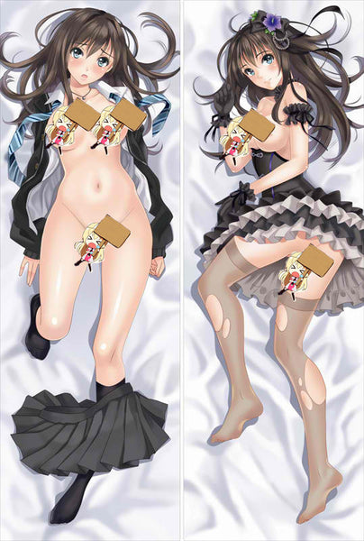 New The Idolmaster Anime Dakimakura Japanese Pillow Cover OX16