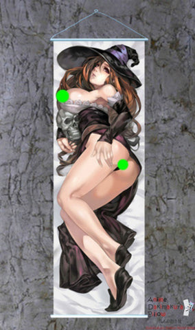 New Dragon's Crown Sorceress Dakimakura Anime Wall Banner F080 ContestOneHundredEight8 - Anime Dakimakura Pillow Shop | Fast, Free Shipping, Dakimakura Pillow & Cover shop, pillow For sale, Dakimakura Japan Store, Buy Custom Hugging Pillow Cover