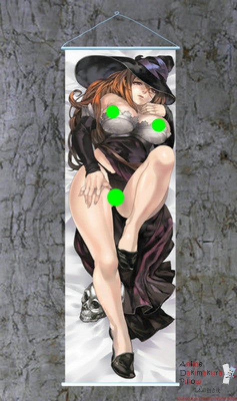 New Dragon's Crown Sorceress Dakimakura Anime Wall Banner F081 ContestOneHundredEight9