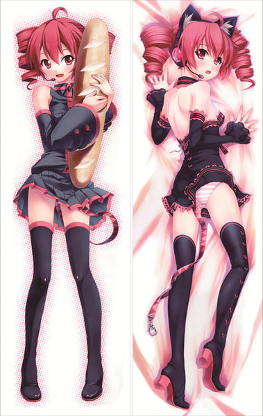 New  Vocaloid Kasane teto Anime Dakimakura Japanese Pillow Cover GM5 - Anime Dakimakura Pillow Shop | Fast, Free Shipping, Dakimakura Pillow & Cover shop, pillow For sale, Dakimakura Japan Store, Buy Custom Hugging Pillow Cover - 1
