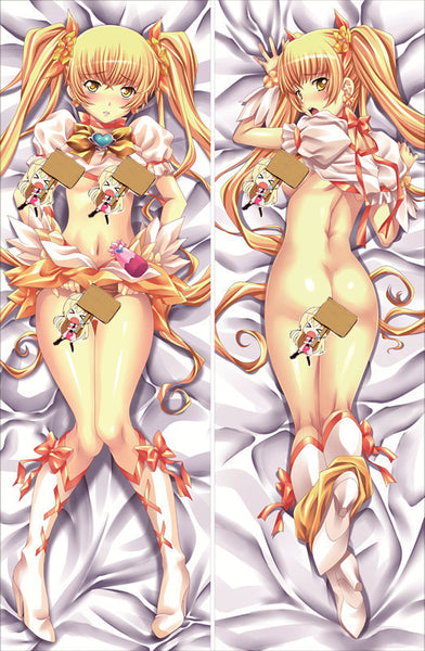 New We are Pretty Cure Anime Dakimakura Japanese Pillow Cover GM10