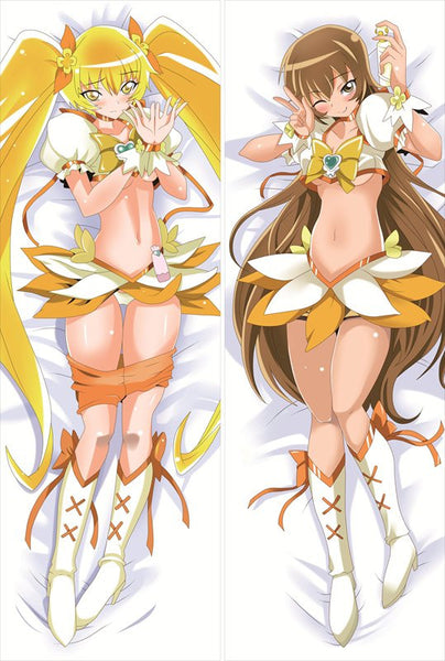 New We are Pretty Cure Anime Dakimakura Japanese Pillow Cover GM23