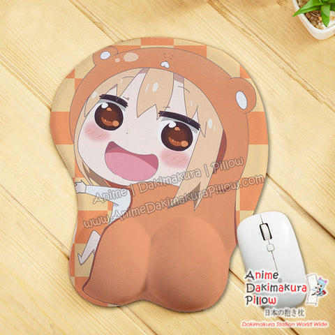 New Umaru Doma - Himouto Umaru Chan Anime Ergonomic 3D Mouse Pad Sexy Butt Wrist Rest Oppai GZFONG MP62