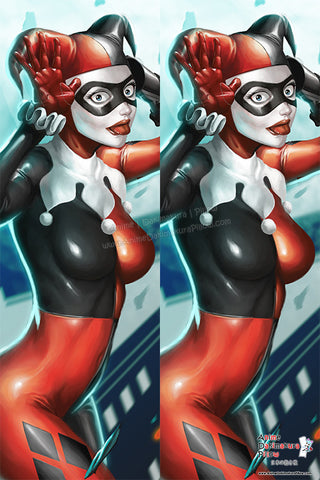 New Harley Q Anime Dakimakura Japanese Pillow Cover Custom Designer GenghisKwan ADC272 - Anime Dakimakura Pillow Shop | Fast, Free Shipping, Dakimakura Pillow & Cover shop, pillow For sale, Dakimakura Japan Store, Buy Custom Hugging Pillow Cover - 1