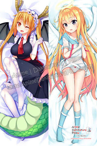 New-Tohru-Miss-Kobayashi's-Dragon-Maid-and-Gabriel-White-Tenma-Gabriel-DropOut-Anime-Dakimakura-Japanese-Hugging-Body-Pillow-Cover-H-TOHRU-B-H3388-B