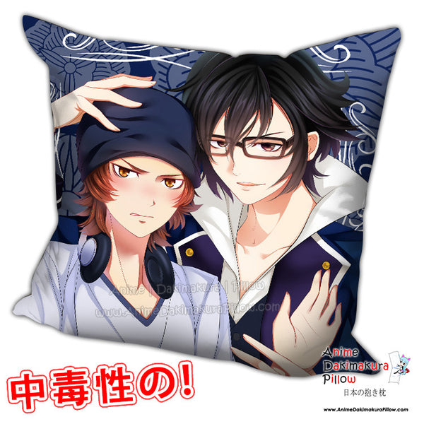 New K Project Anime Dakimakura Square Pillow Cover H0187 - Anime Dakimakura Pillow Shop | Fast, Free Shipping, Dakimakura Pillow & Cover shop, pillow For sale, Dakimakura Japan Store, Buy Custom Hugging Pillow Cover - 1