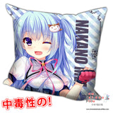 New Mei Nakano - Shirogane X Spirits Anime Dakimakura Square Pillow Cover H0195 - Anime Dakimakura Pillow Shop | Fast, Free Shipping, Dakimakura Pillow & Cover shop, pillow For sale, Dakimakura Japan Store, Buy Custom Hugging Pillow Cover - 1