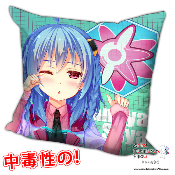 New Saya Sasamiya - The Asterisk War Anime Dakimakura Square Pillow Cover H0201