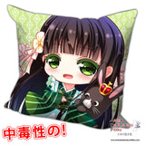 New Ujimatsu Chiya - Is the Order Rabbit Anime Dakimakura Square Pillow Cover H0210 - Anime Dakimakura Pillow Shop | Fast, Free Shipping, Dakimakura Pillow & Cover shop, pillow For sale, Dakimakura Japan Store, Buy Custom Hugging Pillow Cover - 1