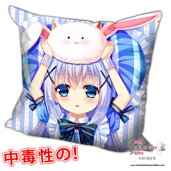 New Chino Kafuu - Is the Order Rabbit Anime Dakimakura Square Pillow Cover H0214