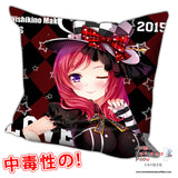 New Maki Nishikino - Love Live Anime Dakimakura Square Pillow Cover H0218 - Anime Dakimakura Pillow Shop | Fast, Free Shipping, Dakimakura Pillow & Cover shop, pillow For sale, Dakimakura Japan Store, Buy Custom Hugging Pillow Cover - 1