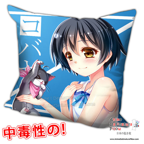 New Ranpo Kitan Game of Laplace Anime Dakimakura Square Pillow Cover H0221 - Anime Dakimakura Pillow Shop | Fast, Free Shipping, Dakimakura Pillow & Cover shop, pillow For sale, Dakimakura Japan Store, Buy Custom Hugging Pillow Cover - 1