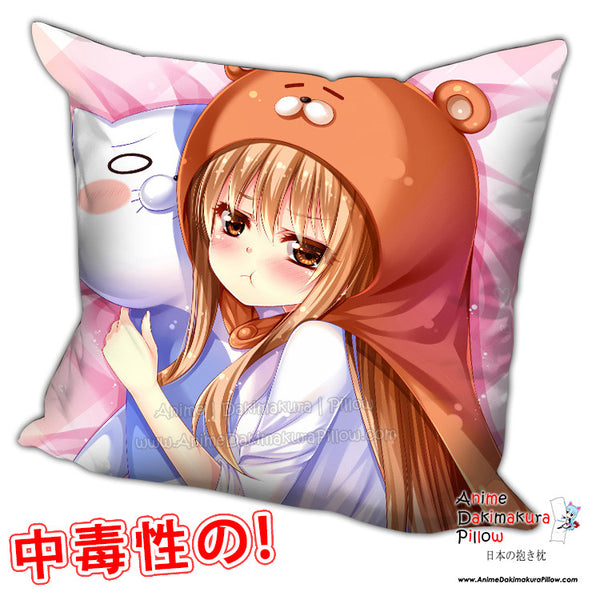 New Umaru Doma - Himouto Umaru Chan Anime Dakimakura Square Pillow Cover H0222