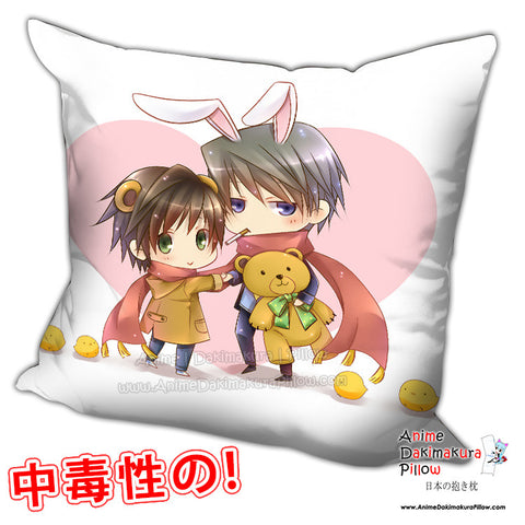 New Junjou Romantica Anime Dakimakura Square Pillow Cover H0232 - Anime Dakimakura Pillow Shop | Fast, Free Shipping, Dakimakura Pillow & Cover shop, pillow For sale, Dakimakura Japan Store, Buy Custom Hugging Pillow Cover - 1