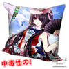 New Kurumi Tokisaki - Date a Live Anime Dakimakura Square Pillow Cover H0255 - Anime Dakimakura Pillow Shop | Fast, Free Shipping, Dakimakura Pillow & Cover shop, pillow For sale, Dakimakura Japan Store, Buy Custom Hugging Pillow Cover - 1