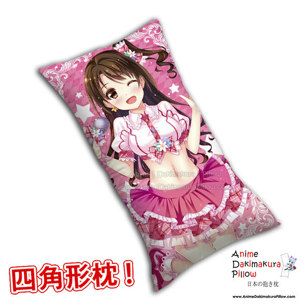 New The Idolmaster Anime Dakimakura Rectangle Pillow Cover H0264 - Anime Dakimakura Pillow Shop | Fast, Free Shipping, Dakimakura Pillow & Cover shop, pillow For sale, Dakimakura Japan Store, Buy Custom Hugging Pillow Cover - 1