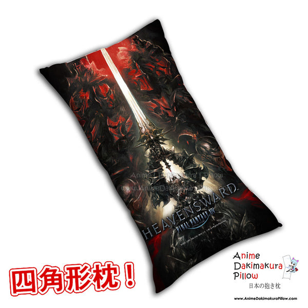 New Heavens Ward Final Fantasy Anime Dakimakura Rectangle Pillow Cover H0266 - Anime Dakimakura Pillow Shop | Fast, Free Shipping, Dakimakura Pillow & Cover shop, pillow For sale, Dakimakura Japan Store, Buy Custom Hugging Pillow Cover - 1