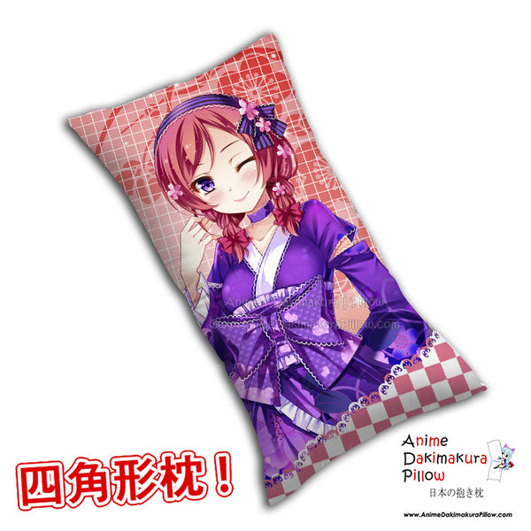 New Maki Nishikino - Love Live Anime Dakimakura Rectangle Pillow Cover H0269 - Anime Dakimakura Pillow Shop | Fast, Free Shipping, Dakimakura Pillow & Cover shop, pillow For sale, Dakimakura Japan Store, Buy Custom Hugging Pillow Cover - 1