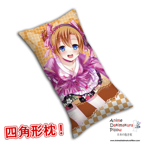 New Kousaka Honoka - Love Live Anime Dakimakura Rectangle Pillow Cover H0276