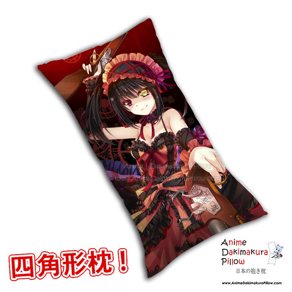 New Kurumi Tokisaki - Date a Live Anime Dakimakura Rectangle Pillow Cover H0281 - Anime Dakimakura Pillow Shop | Fast, Free Shipping, Dakimakura Pillow & Cover shop, pillow For sale, Dakimakura Japan Store, Buy Custom Hugging Pillow Cover - 1